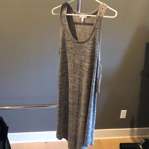 Leith Nordstrom grey cloudy heather dress